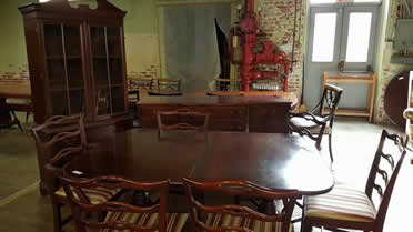 Piece Georgetown Galleries Mahogany Dining Room Set