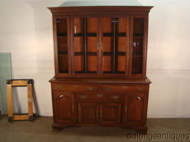 Pennsylvania House Solid Cherry China Cabinet